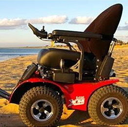 X8 Extreme 4x4 All Terrain Power Wheelchairs Vancouver