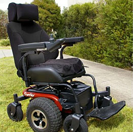 X5 Frontier All Terrain Power Wheelchairs Vancouver